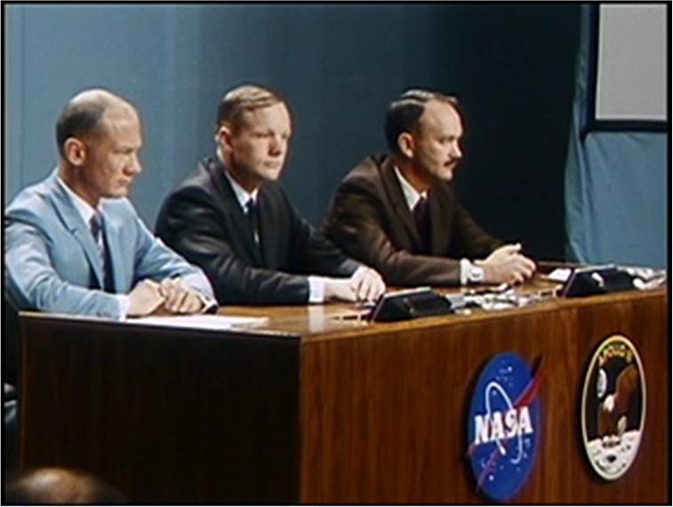 Pressekonferenz vom Dienstag 16. September 1969 in Houston
